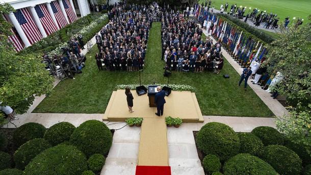 Ein Superspreading-Event im Weißen Haus?