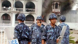 Schwere Unruhen in Kathmandu