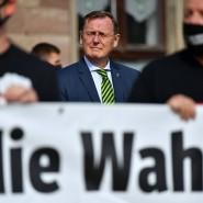 Thüringens Ministerpräsident Bodo Ramelow im September 2020 in Heilbad Heiligenstadt