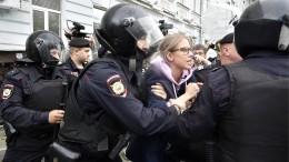 Russische Polizei nimmt fast 700 Demonstranten fest