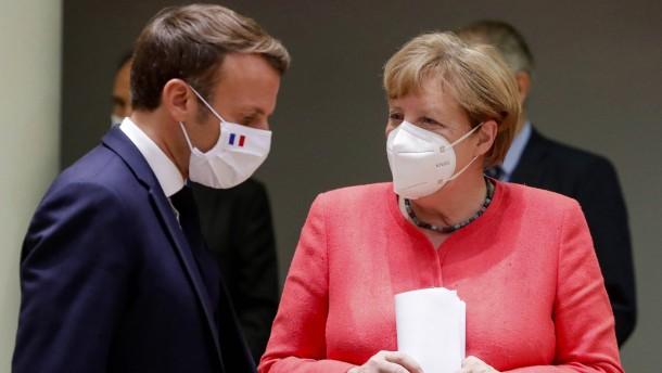 Merkel und Macron halten den Laden zusammen