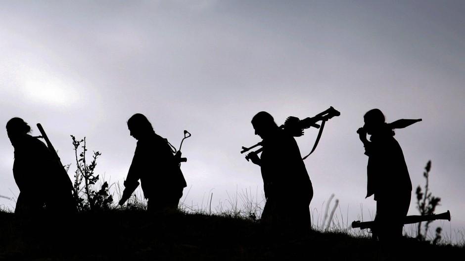 PKK-Kämpfer im Norden von Irakisch-Kurdistan (2006)