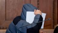 Zwölf Jahre Haft: einer der Angeklagten im Landgericht Nürnberg-Fürth