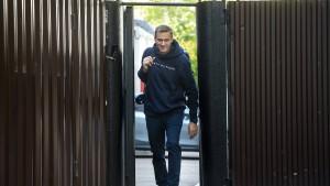Kremlkritiker Nawalny nach 30 Tagen wieder frei