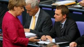 Bundestag Merkel Bahr