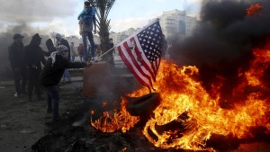 Aufruhr in den Palästinensergebieten