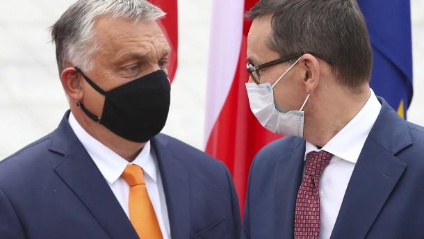 Ungarn und Polen werden in Rechtsstaatsstreit überstimmt