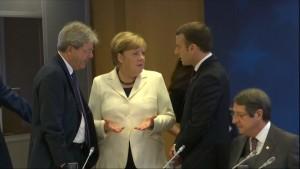Merkel sieht britische Regierung am Zug