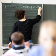 Unterricht in einer Grundschule in Remshalden in Baden-Württemberg (Symbolbild)