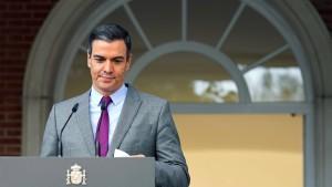 Große Regierungsumbildung in Spanien