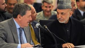 Amerikaner reden mit Taliban