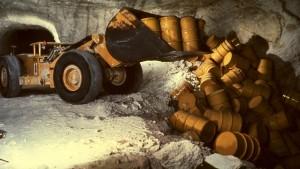 Stark erhöhte Radioaktivität in der Asse gemessen
