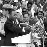 """Kann sein Traum rassistisch sein? Martin Luther King jr. 1963 bei seiner berühmten """"I Have a Dream""""-Rede"""