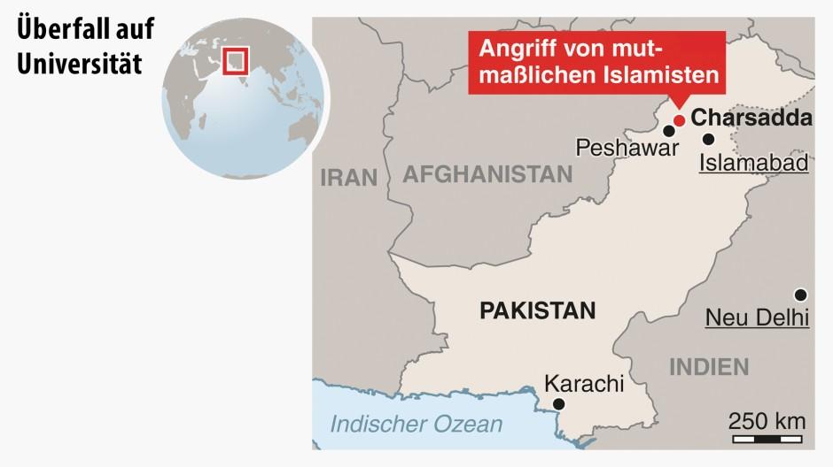Brief Nach Afghanistan : Bilderstrecke zu spur von uni anschlag in pakistan führt