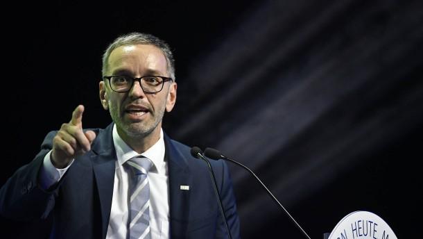 FPÖ wählt Kickl zum Vorsitzenden