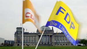 Union verbittet sich Kritik aus der FDP
