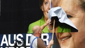 Blitzmeuten im Spätwahlkampf