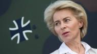 Verteidigungsministerin zum Aufbaustab Cyber- und Informationsraum