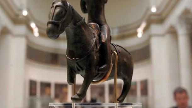 Merowinger-Ausstellung mit «Beutekunst»-Exponaten in Moskau eröffnet