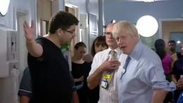 Vater eines kranken Kindes macht Boris Johnson Vorwürfe