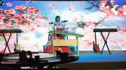 Nordkoreanische Musik im Restaurant