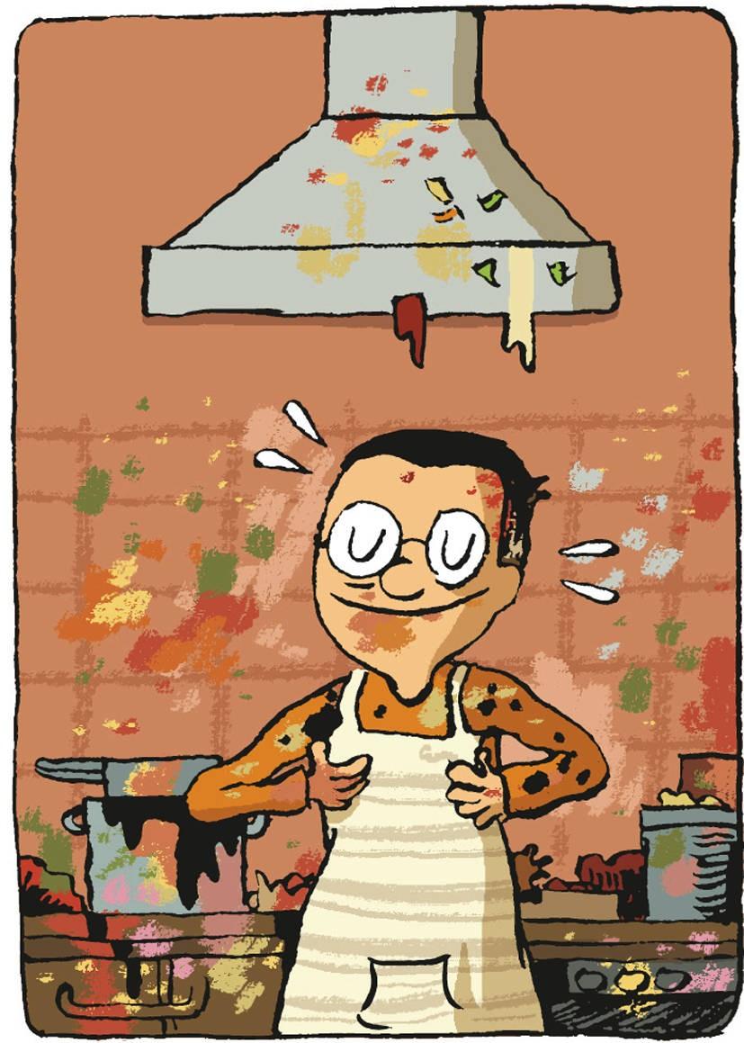 """Französische küche comic  Bilderstrecke zu: Französische Küche im Comic: """"Kochen ist ..."""