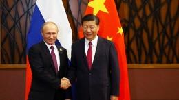 Russland und China sehen Amerika auf Konfrontationskurs