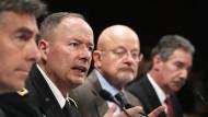 NSA-Chef Alexander verteidigt US-Geheimdienste