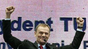 Tusk und Kaczynski in der Stichwahl
