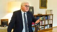 """""""Die Kosten dieser Auseinandersetzung sind hoch"""": Bundespräsident Frank-Walter Steinmeier"""