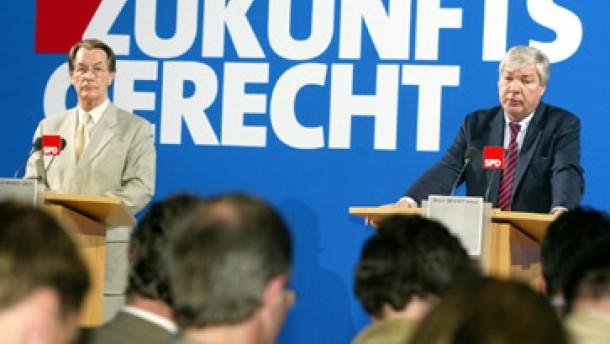 """Die SPD spinnt an einem """"Gesprächsfaden"""""""