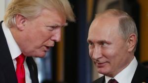 Trump und Putin verabreden Gipfel über Syrien und Abrüstung