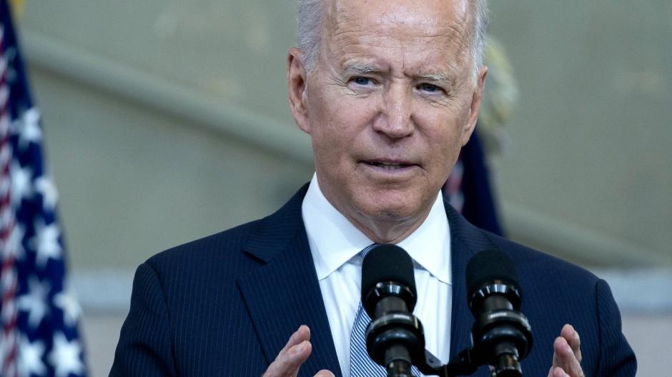 Warnt vor Krieg: Der amerikanische Präsident Joe Biden