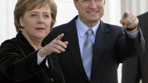 Die Kanzlerin genießt den öffentlichen Auftritt nicht