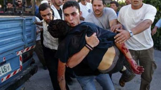 Hamas stellt Waffenruhe in Frage