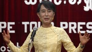 """Aung San Suu Kyi nennt ihr Land weiter """"Burma"""""""