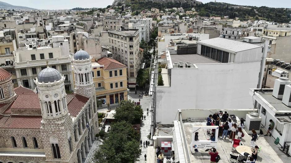 Akropolis in Athen: Mühsam arbeitet sich Griechenland aus der Krise