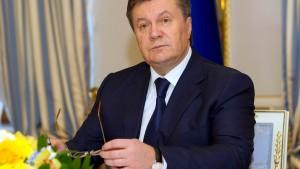 Fahndung nach Janukowitsch wegen Massenmordes