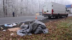 Kroatische Polizei verhindert Flüchtlingskatastrophe