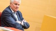 Nicht einverstanden: Ministerpräsident Horst Seehofer