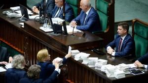 Polnisches Parlament verabschiedet Justizreform