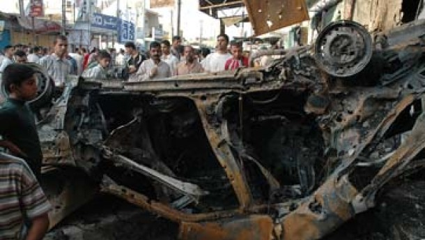 Mehr als hundert Tote bei Anschlägen im Irak