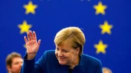 Merkel unterstützt Macrons Idee einer europäischen Armee