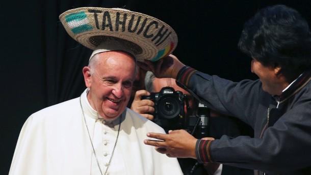 Papst bittet Indigene um Vergebung