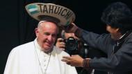 Papst bittet Amerikas Ureinwohner um Vergebung