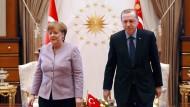 Getrennte Wege: Angela Merkel und Recep Tayyip Erdogan