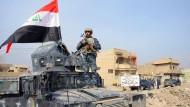 """Eine Militärkoalition unter der Führung der Vereinigten Staaten will Mossul von der Terrormiliz """"Islamischer Staat"""" befreien."""