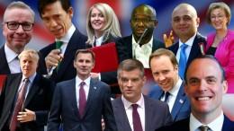 Zehn Kandidaten für Mays Nachfolge