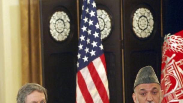 Washington und Kabul vereint gegen die Taliban