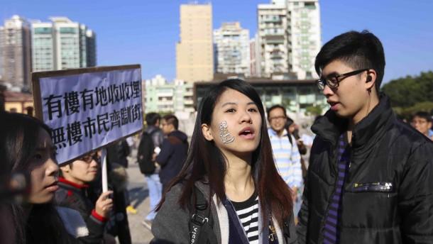 Chinas Präsident warnt Demokratie-Aktivisten